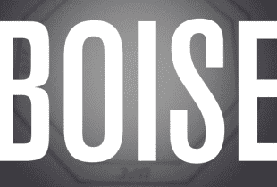 Kurt Holobaugh treft Raoni Barcelos tijdens UFC Boise