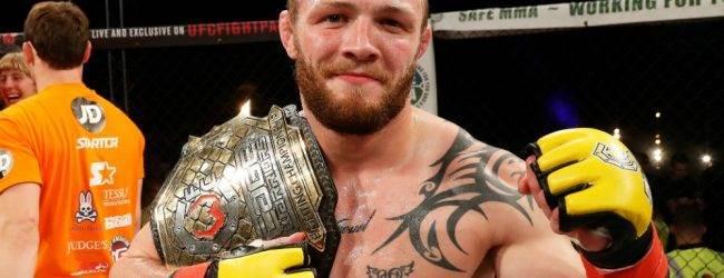 Cage Warriors Kampioen Chris Fishgold tekent contract bij de UFC
