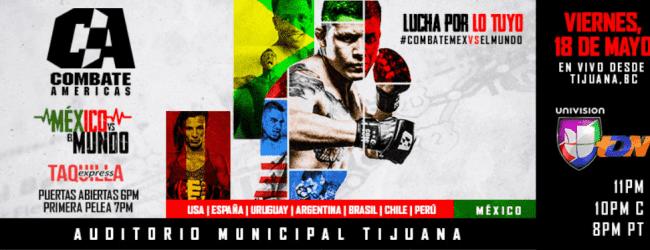 Uitslagen : Combate Americas 21 : Mexico vs. El Mundo