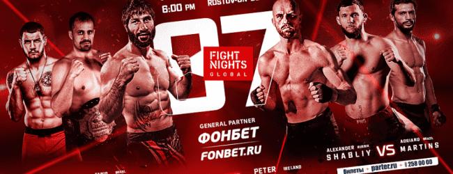 Uitslagen : Fight Nights Global 87 : Khachatryan vs. Queally
