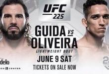 Charles Oliveira vervangt Bobby Green tegen Clay Guida tijdens UFC 225 in Chicago