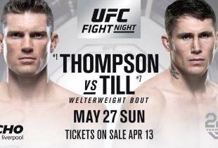 UFC Liverpool: Weging resultaten
