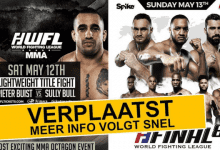 BREAKING: Beide World Fighting League evenementen afgelast
