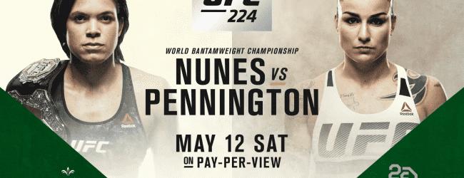 Markus Perez en James Bochnovic strijden voor eerste UFC overwinning tijdens UFC 224