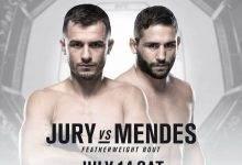 Lang verwachte terugkeer Chad Mendes tegen Myles Jury tijdens UFC Boise