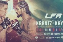 LFA 42 : Krantz vs. Kayne op 8 Juni 2018 in Branson, Missouri