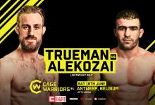 Drie nieuwe partijen voor Cage Warriors 94 in Antwerpen