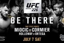 Jamie Moyle treft Emily Whitmire tijdens UFC 226 in Las Vegas