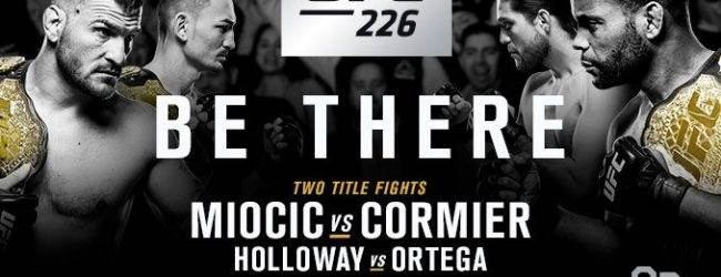 Poging twee : Uriah Hall vs. Paulo Costa tijdens UFC 226 in Las Vegas
