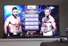 Dalende kijkcijfers voor UFC Pay-Per-View evenementen