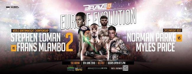 Uitslagen : Brave CF 13 : Europe Evolution