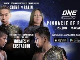 Uitslagen : ONE Championship 73 : Pinnacle of Power