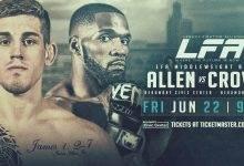 Uitslagen : LFA 43 : Allen vs. Crowe