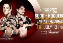 MMA veteraan Gerald Harris tegen ongeslagen Yaroslav Amosov op Bellator 202