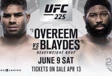 MMA DNA Pro Picks : UFC 225 : Overeem vs. Blaydes