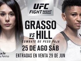 Angela Hill zonder tegenstander tijdens UFC Lincoln na uitvallen Alexa Grasso