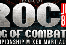 Uitslagen : Ring of Combat 63 : Algeo vs. Gonzalez