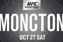 De UFC organiseert Fight Night evenement in Moncton, New Brunswick, Canada