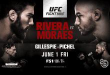 Uitslagen : UFN 131 Utica : Rivera vs. Moraes