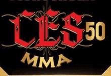 Uitslagen : CES MMA 50 : Paiva vs. Ewell