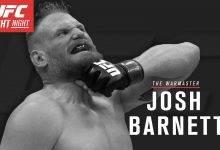 UFC verbreekt contract met Josh Barnett