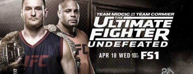 Eerste TUF 27 Finalist in de Lightweight divisie is bekend