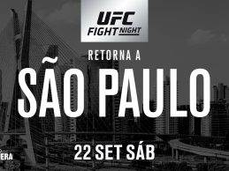 Sam Alvey treft Antonio Rogerio Nogueira tijdens UFC São Paulo