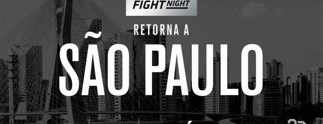 Vieira vs. Evinger & Saunders vs. Moraes toegevoegd aan UFC São Paulo