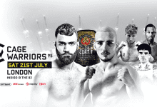 Uitslagen : Cage Warriors 95 : Janzemini vs. Paternò