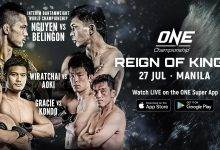 Uitslagen : ONE Championship 77 : Reign of Kings