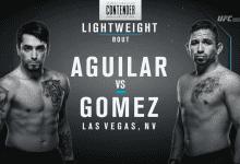Uitslagen : DWTNCS Seizoen 2 – Week 4 : Aguilar vs. Gomez