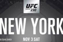 Rematch-Alert: Rockhold vs. Weidman 2 tijdens UFC 230 in New York