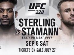 """""""Twitterbeef"""" leidt tot gevecht tussen Aljamain Sterling & Cody Stamann tijdens UFC 228"""