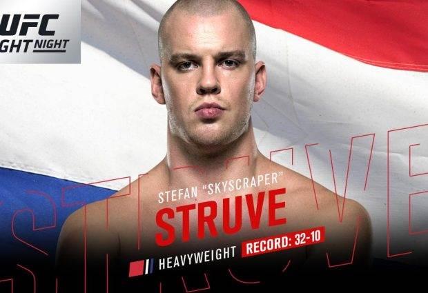 Q&A met UFC Heavyweight Stefan Struve
