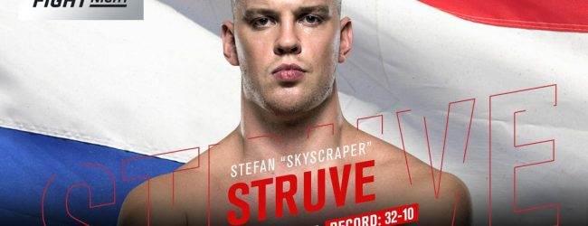 Opnieuw verlies voor Stefan Struve