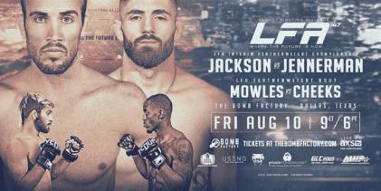 Damon Jackson en Nate Jennerman vechten om Interim Featherweight titel tijdens LFA 47