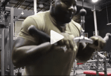 Anthony 'Rumble' Johnson is ENORM