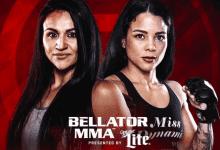 Veta Arteaga vs. Denise Kielholtz voor Bellator 205