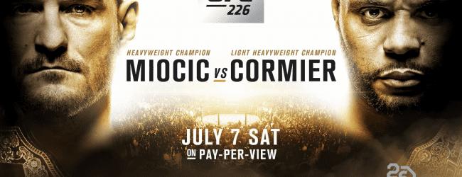 MMA DNA Pro Picks : UFC 226 Miocic/Cormier & Saki/Rountree Jr.