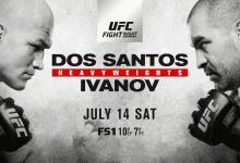 Uitslagen : UFN 133 Boise : Dos Santos vs. Ivanov