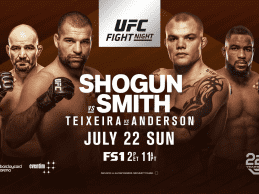 Uitslagen : UFN 134 Hamburg : Shogun vs. Smith