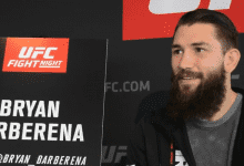 UFC Phoenix Audio-Interview: Bryan Barberena