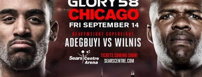 Benjamin Adegbuyi tegen Jahfarr Wilnis in Chicago