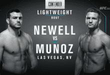 Uitslagen : DWTNCS Seizoen 2 – Week 6 : Newell vs. Munoz