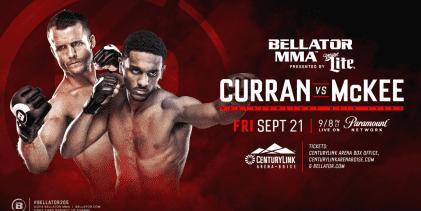 Bellator komt naar Boise met Curran vs. McKee op het Main Event