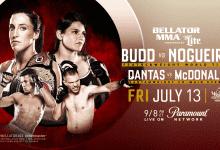 Uitslagen : Bellator 202 : Budd vs. Nogueira