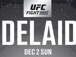 Fortis MMA sensatie Geoff Neal treft Luke Jumeau tijdens UFC Adelaide