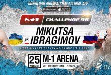 Uitslagen : M-1 Challenge 96 : Mikutsa vs. Ibragimov