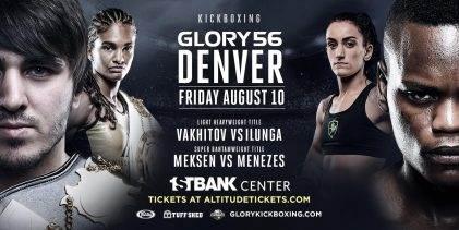 Uitslagen : GLORY 56 : Denver