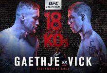UFC Fight Night 135 salarissen: Dit verdient een UFC vechter